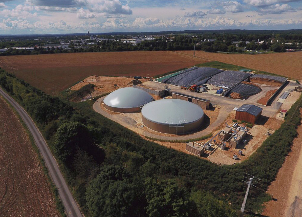 Compact, modular design offers customers maximum flexibility: EnviThan gas feed-in France